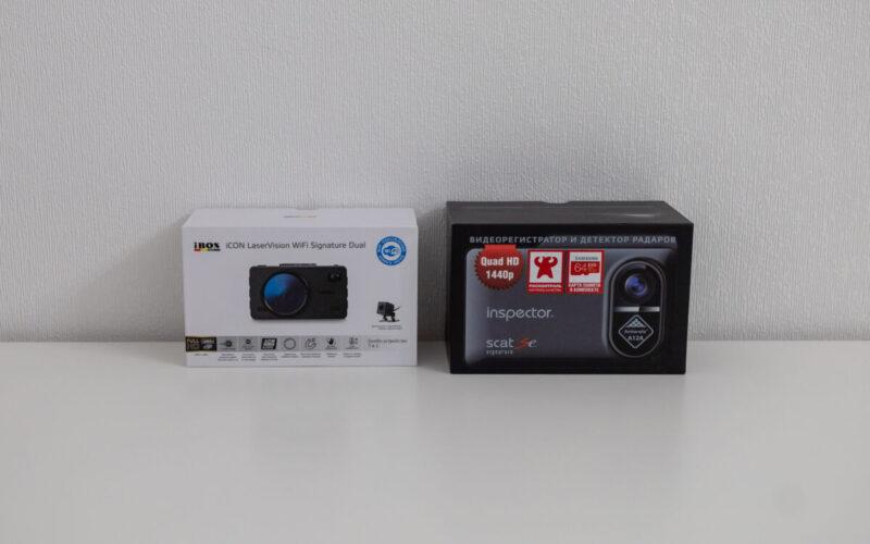 iBOX iCON LaserVision WiFi Signature Dual против Inspector SCAT Se (QUAD HD). Выбираем лучший автомобильный гибрид сезона 2020-2021. Серия #5 © Техномод
