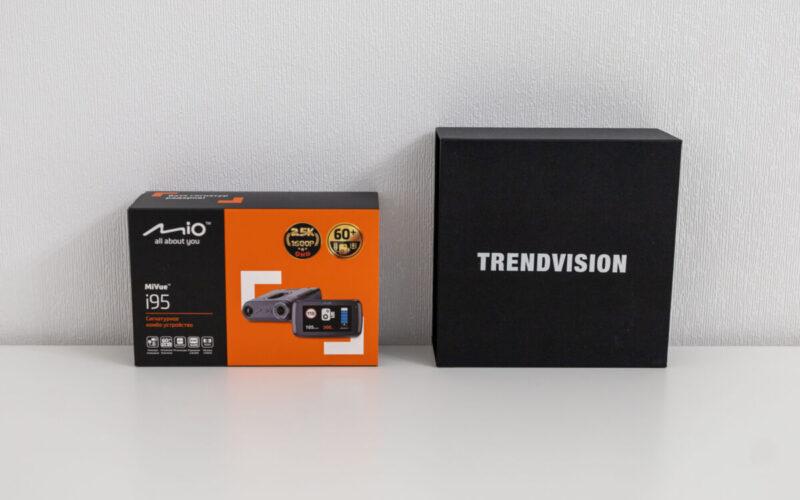 TrendVision Hybrid Signature против Mio MiVue i95. Выбираем лучший автомобильный гибрид сезона 2020-2021. Серия #6 © Техномод