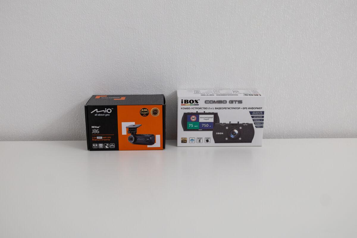iBOX Combo GTS против Mio MiVue J86. Выбираем лучший автомобильный видеорегистратор с GPS-информатором сезона 2020-2021. Серия #5 © Техномод