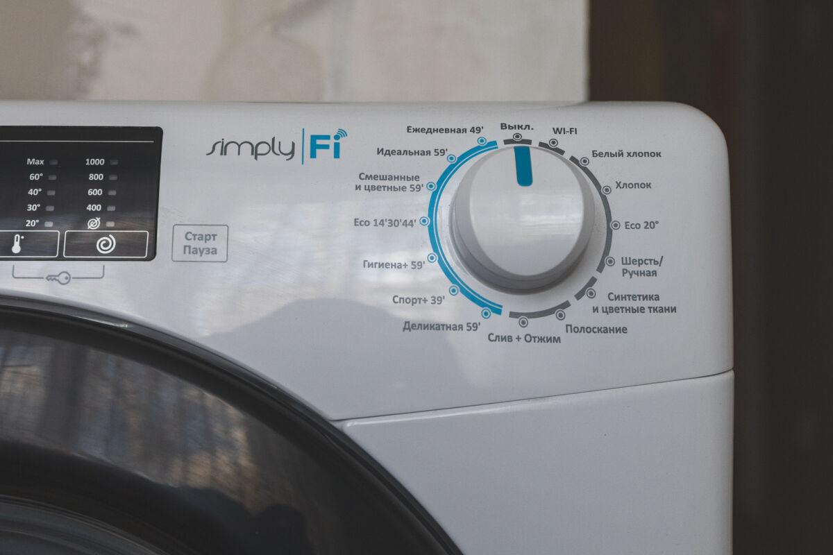 Узкая стиральная машина Candy Smart Pro CO34105TB1/2-07 — панацея для маленьких квартир © Техномод