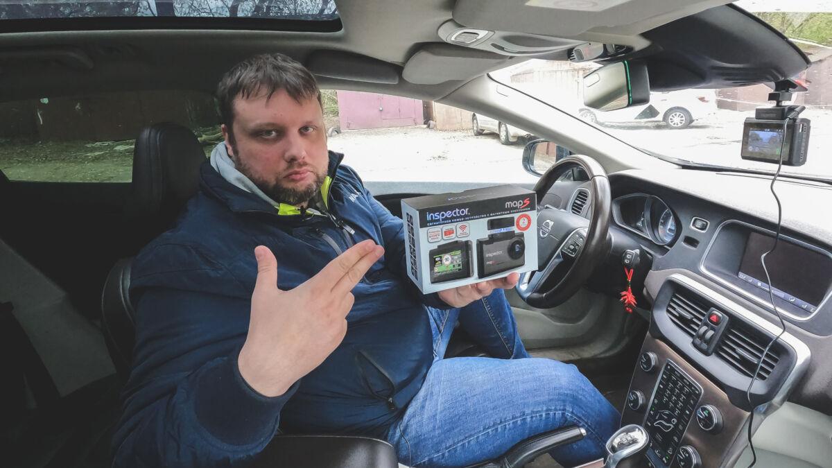 Тест гибрида Inspector MapS против камер «Полискан», «Кордон», «Крис» и тест на ложные срабатывания © Техномод