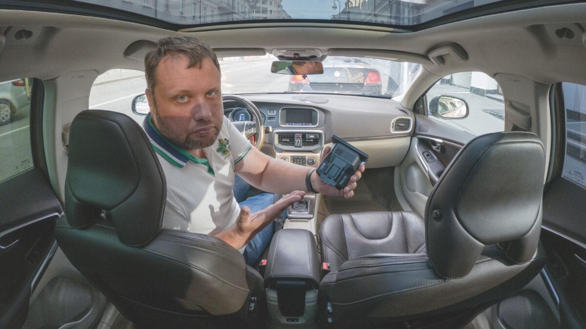 Тест SilverStone F1 Hybrid S-Bot Pro против полицейских камер «Кордон М2» и «Автоураган» © Техномод