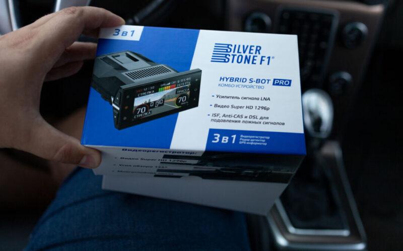 Распаковка гибрида SilverStone F1 Hybrid S-BOT Pro + пример видеосъемки © Техномод