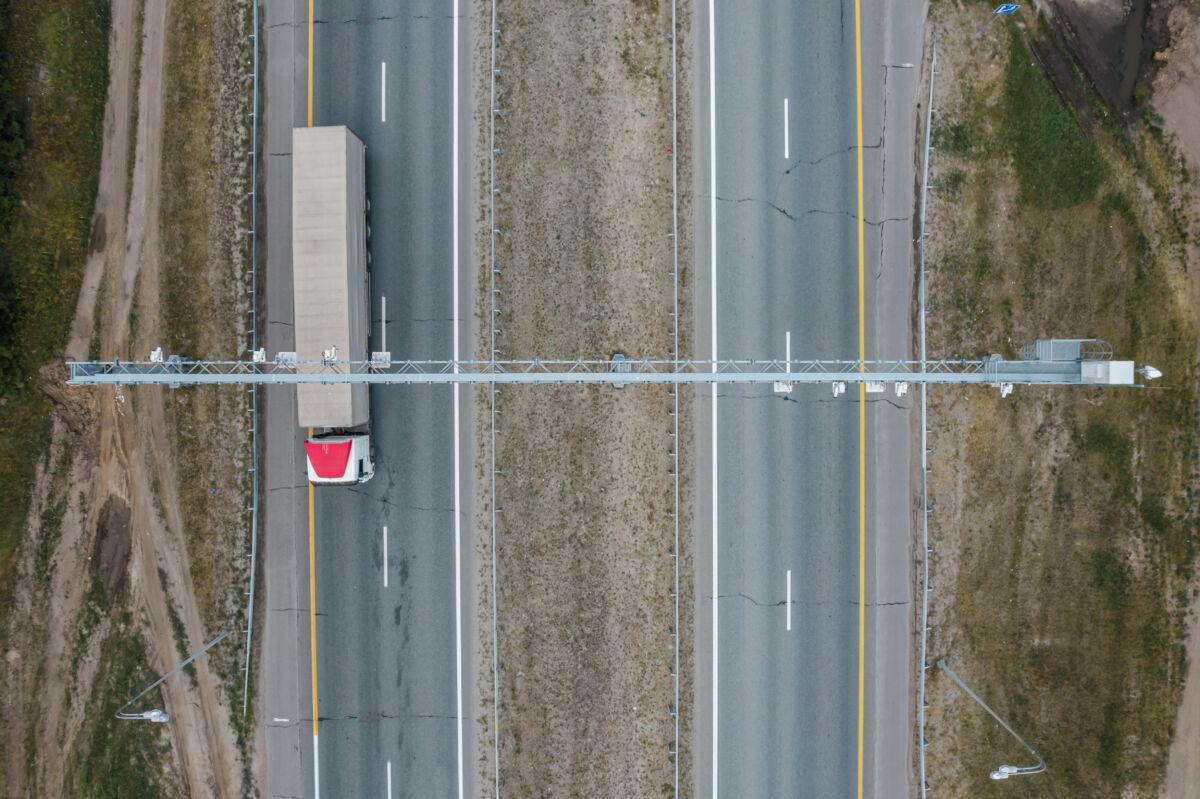 Комплекс «Платон» на трассе М7 недалеко от Казани © Техномод